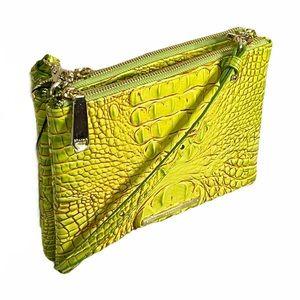 Brahmin Tango Perri Crossbody Shoulder Bag Croc